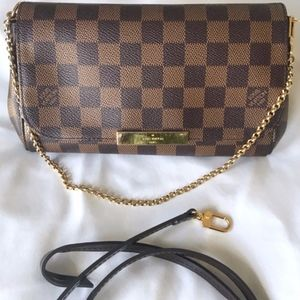 Louis Vuitton Favorite PM Damier Ebene cross body